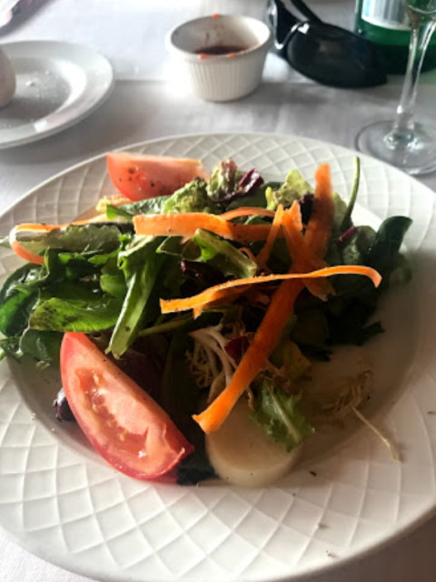 Insalada Positano, the house salad at Trattoria Positano, Cardiff-by-the-Sea